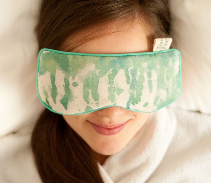 Eye pillow with lavender and rosemary oils by Touchee Feelee