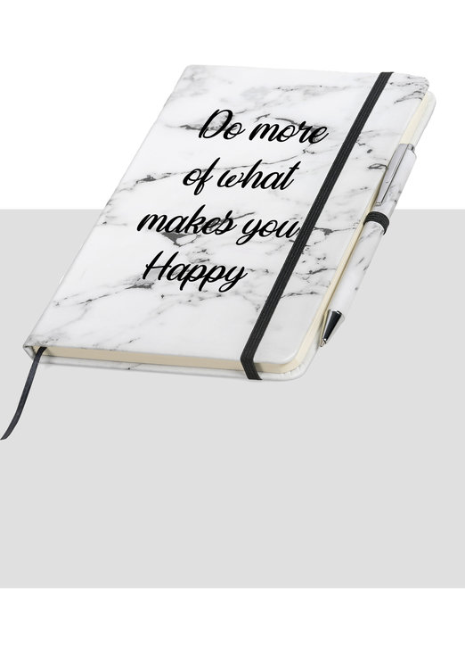 Marble Classic Quote Journal and Pen set gift birthday notebook by Love & Sparkles