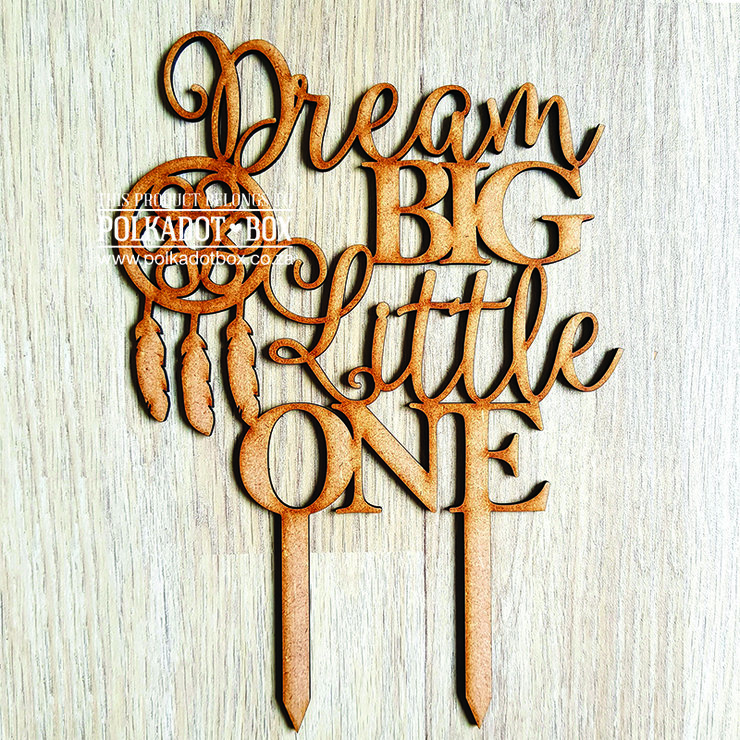 Baby Shower Cake Topper - wood or acrylic  by Polkadot Box