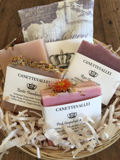 Fragrant Gift Basket by Canettevallei Lavender