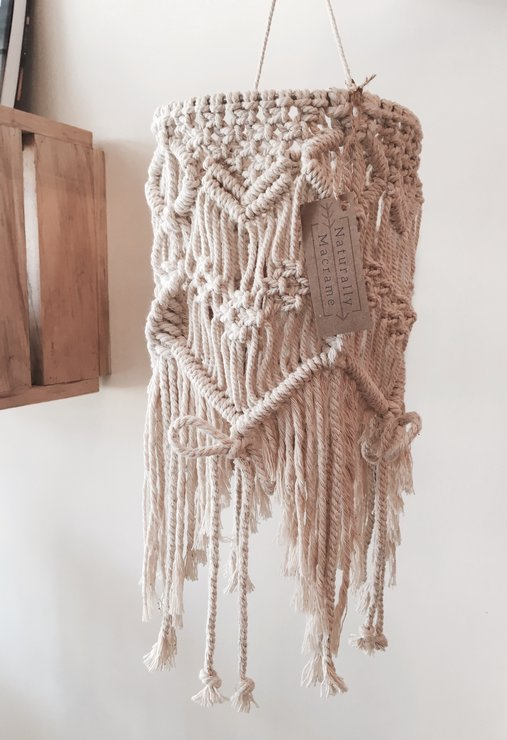 Knots & Bows Mobile  by Naturally Macrame
