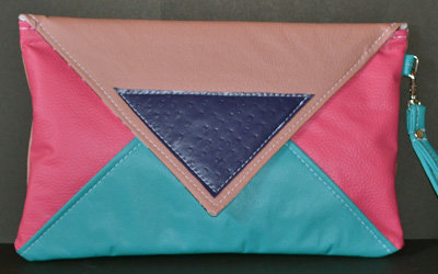 Letter Clutches by GTHOMAS