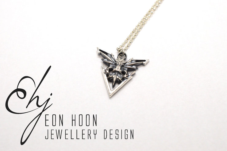 Instinct Tribute Pendant by Eon Hoon Jewellery Design