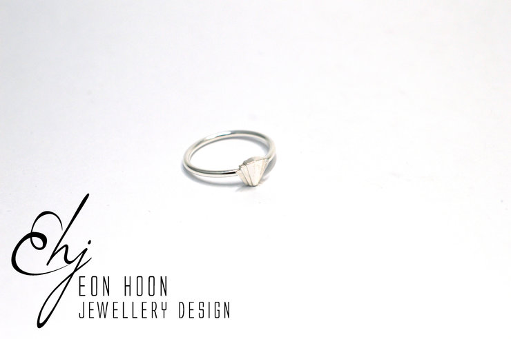 Art Deco Stack Ring by Eon Hoon Jewellery Design