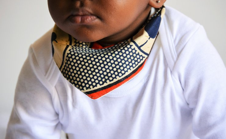 The Khwezi Bib/Bandana by HAPPI LLAMA