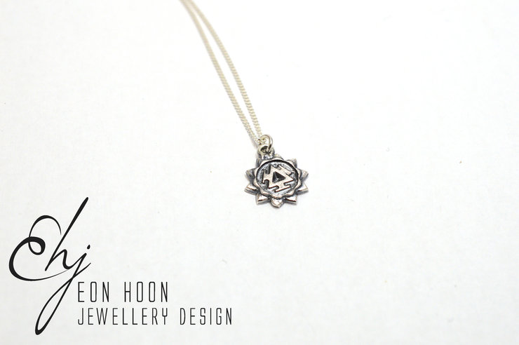 Solar Plexus Chakra Necklace by Eon Hoon Jewellery Design
