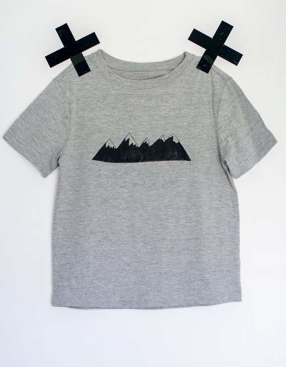 Mountain Kids Shirt  by Lerika Cre-A-tive