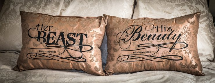 Personalised Cushions by Glitter Bug SA