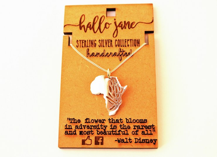 Protea Africa Necklace by HALLO JANE