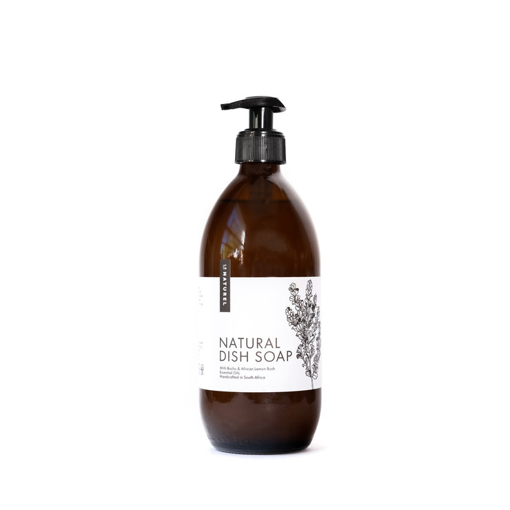 Natural Dish Soap with Buchu and African Lemon Bush by Le Naturel