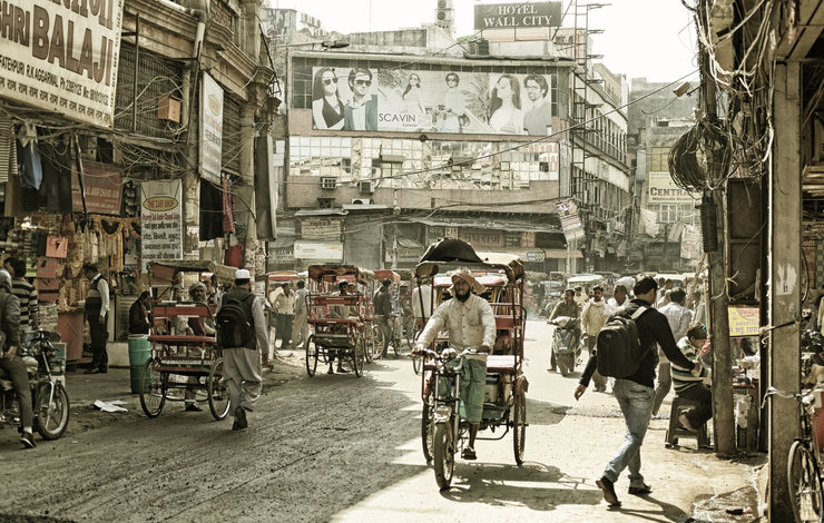 Old Delhi. by Michael Middleton Photography