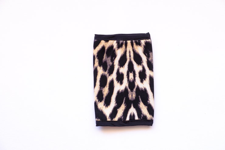 Natural Animal Print Passport Cover by cover me pretty