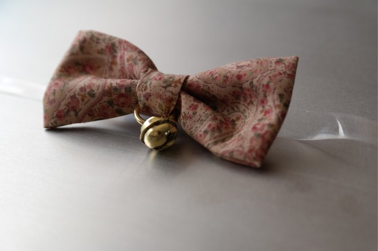 Pink Floral Bow Tie by Bow Ties by Chewy