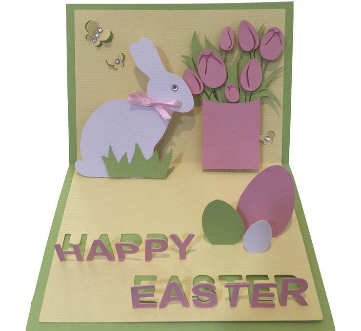 Easter PopUp Card by Cards by Kerri – Easter Pop Up Cards
