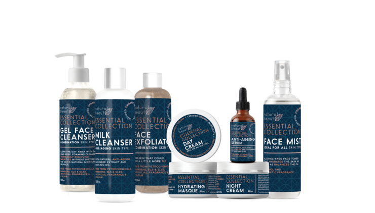FULL Essential Collection skincare range by NATURALS BEAUTY