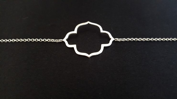 Alanya silver bracelet by Isis