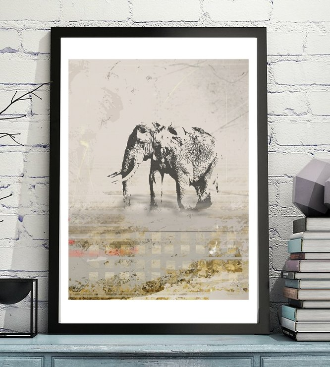 Elephant Nomad - Digital Print File Download by  ImPrintable | Art
