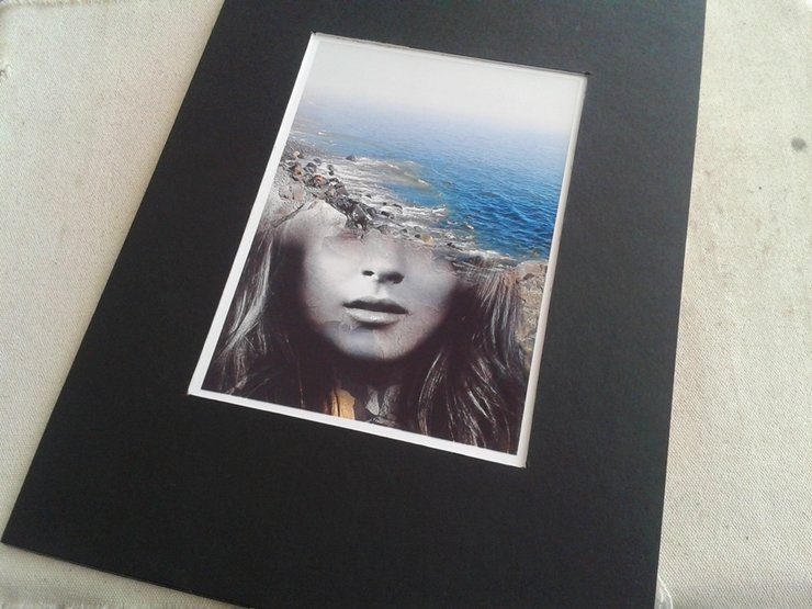 Photo Print | Matted Surreal Portrait - ' Emerge ' by  ImPrintable | Art
