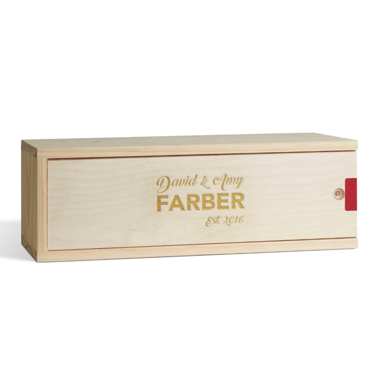 Couples Wine Box by Wine Gifts