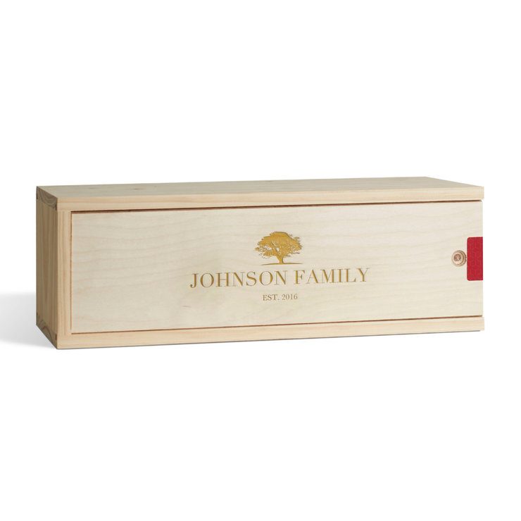 Family Tree Wine Box by Wine Gifts