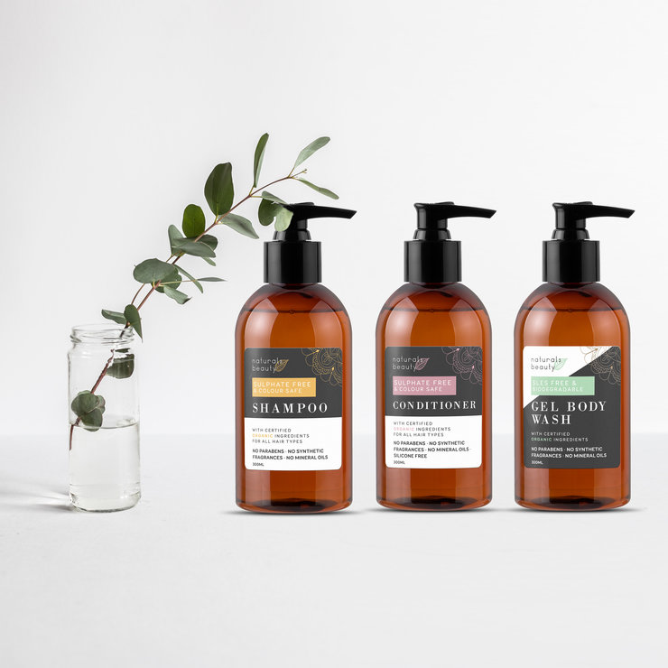 NEW Bathroom Range  by NATURALS BEAUTY
