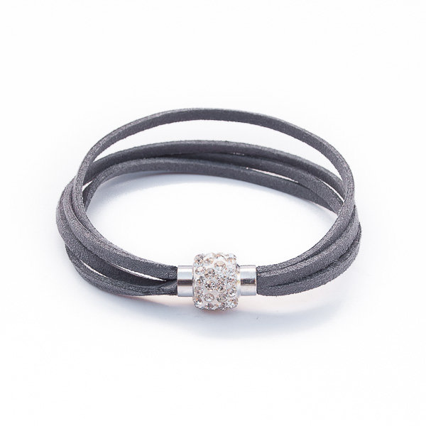 Chic Bracelet - Charcoal by Euvella