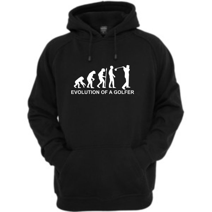 Evolution of a golfer hoodie by Qtees Africa (Pty)Ltd