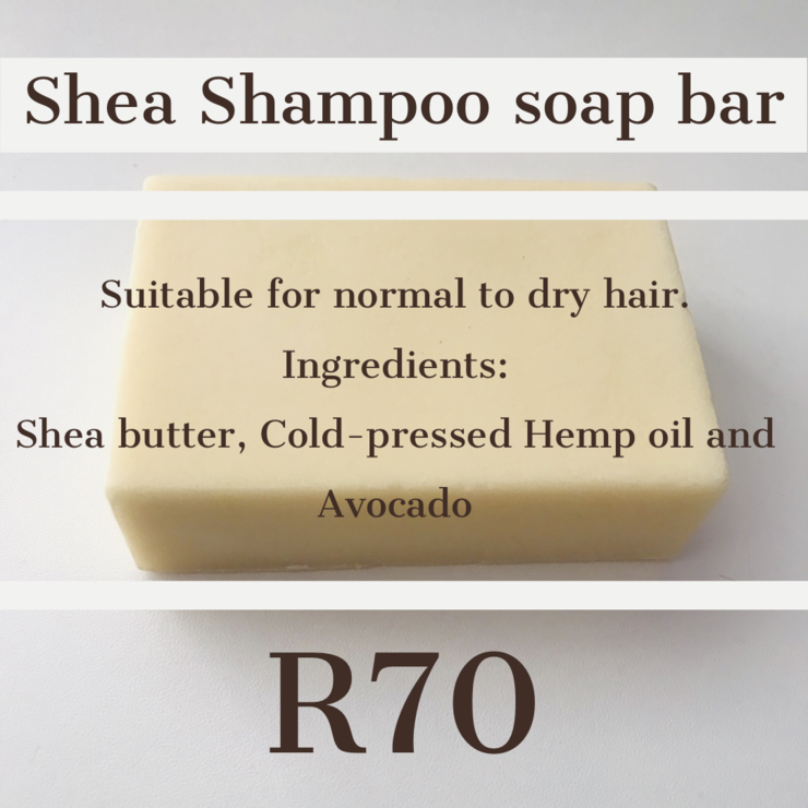 Shea Shampoo bar  by Rky Blu
