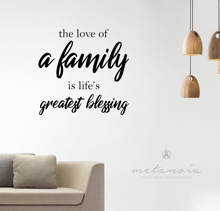 Family - Vinyl Decal by Metanoia Graphic Design