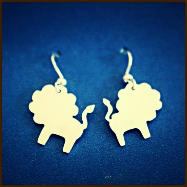 Lions by FiliG Handmade Silver Jewellery