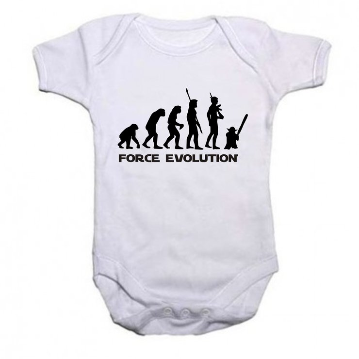 Force Evolution baby grow by Qtees Africa (Pty)Ltd