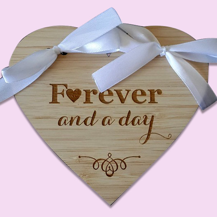 Forever and a day Rings Holder by Polkadot Box