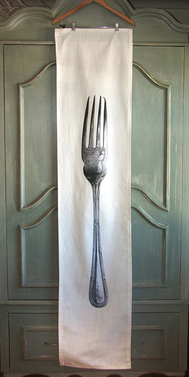 Fork Table Runner by yumyum
