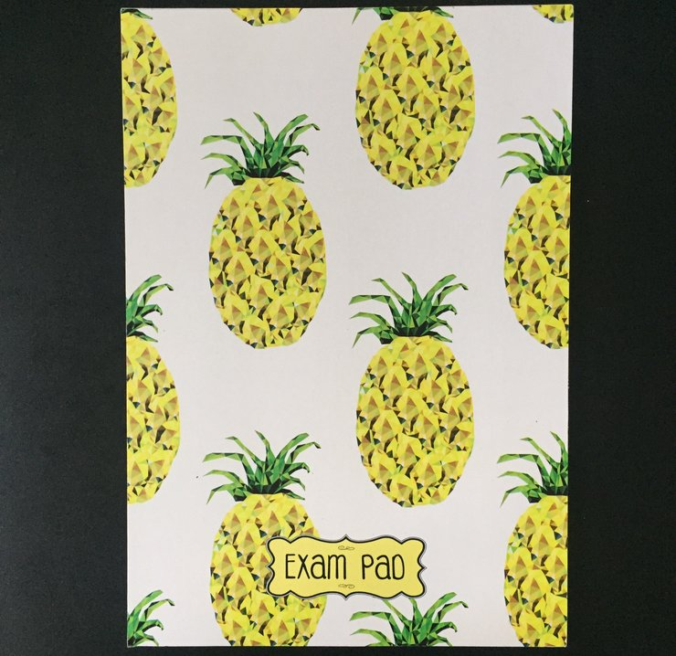 EXAM PAD PINEAPPLE - EP - 086 by Cool Creations