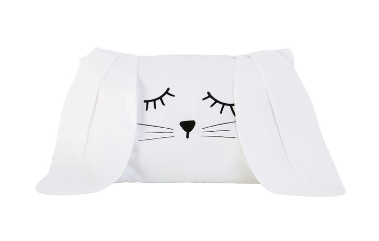 FUNNY BUNNY Baby Pillowcase by Big Heart Company