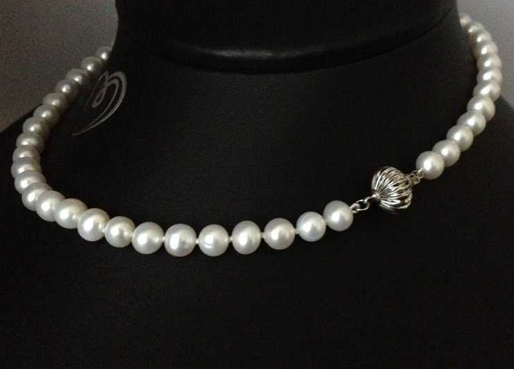 Freshwater Pearl Necklace - FWP013 by AnKa Jewellery