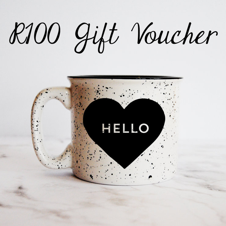 R100 Digital Gift Voucher by Hello Pretty Store