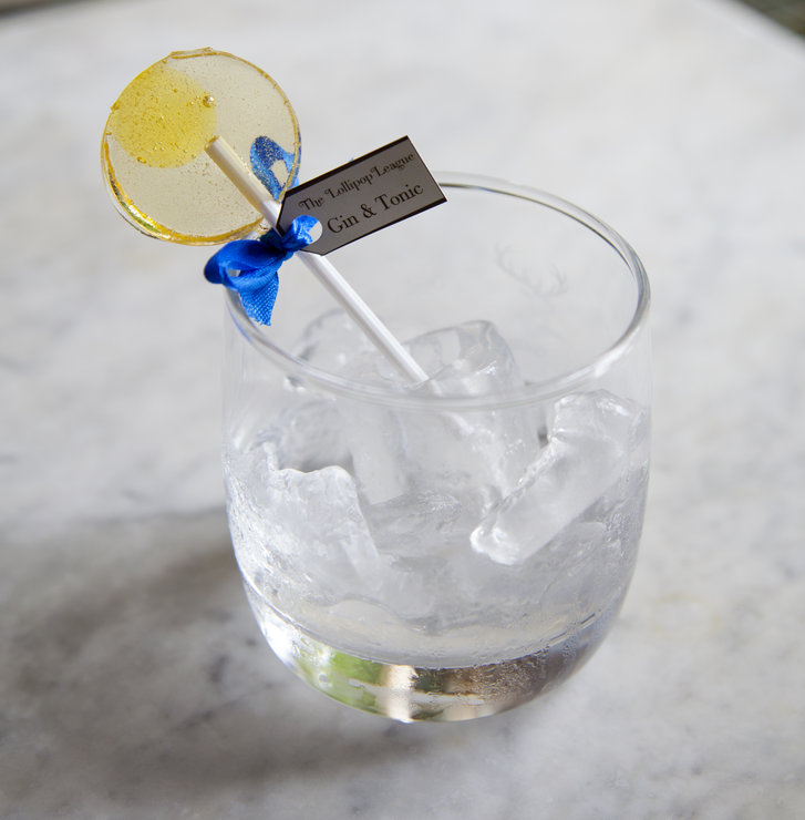 50 Gin & Tonic Lollipops by The Lollipop League