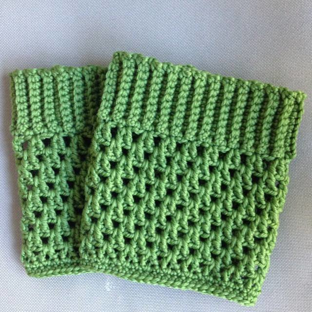 Handmade crochet boot cuffs - Made to Order by Croshka Designs