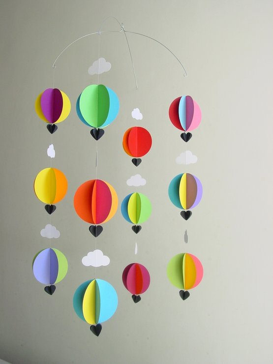 Hot Air Balloon Mobile Hello Pretty Buy Design