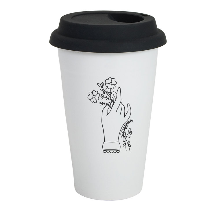 Hand Travel Mug by Sugar and Vice