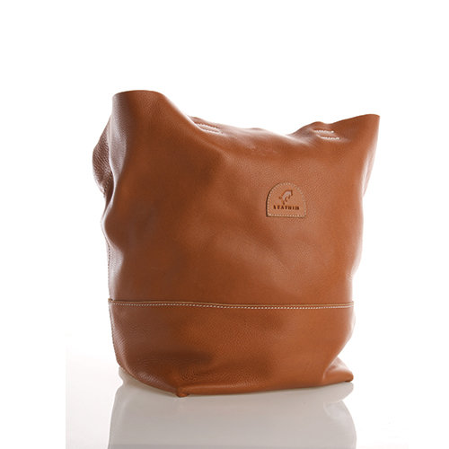 LEATHIM CALABASH LEATHER HANDBAG by Leathim
