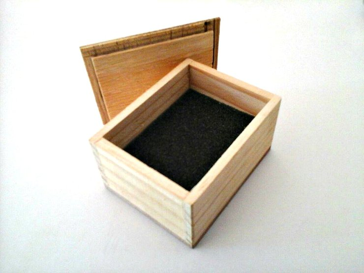 Handmade Wooden box by Rollin Designs