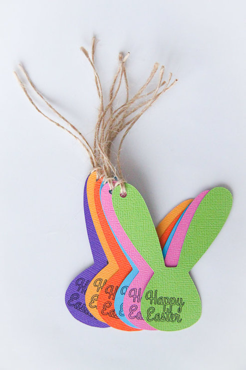 Easter bunny gift tags by teelee a bits bobs brand happy easter bunny gift tags by teelee a bits bobs brand negle Image collections