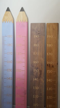 Growth Chart Rulers Standard 2000 X 190 X 20mm Hello