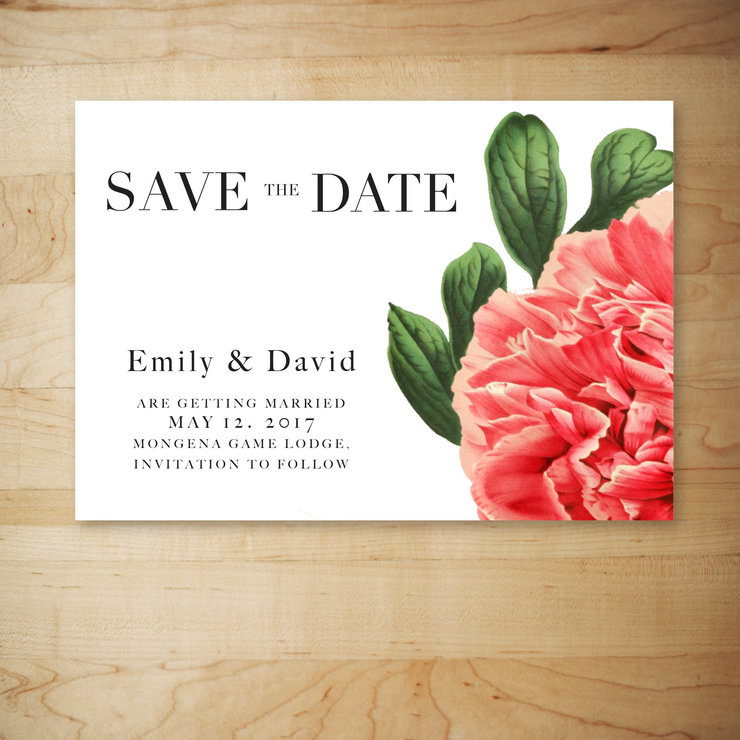 Digital Save The Date - STD – 10 by Le Grand Atelier