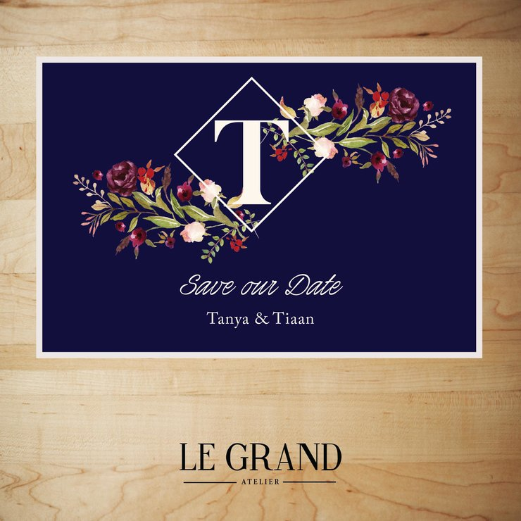 Digital Save The Date - STD – 20 by Le Grand Atelier