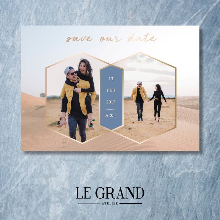 Digital Save The Date - STD 4 by Le Grand Atelier