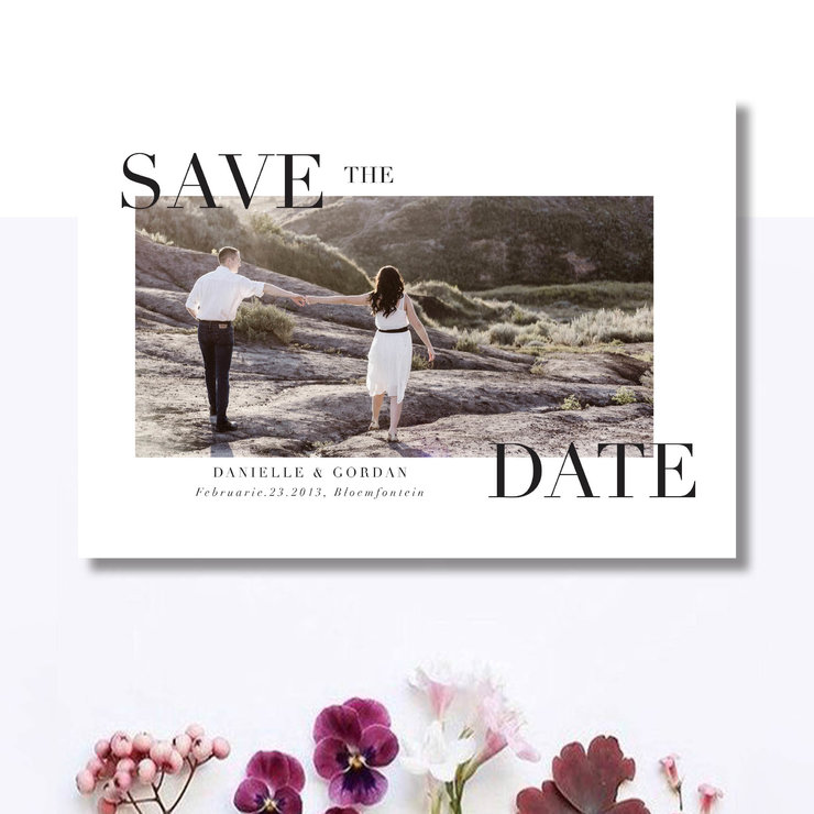 Digital Save The Date - STD – 8 by Le Grand Atelier