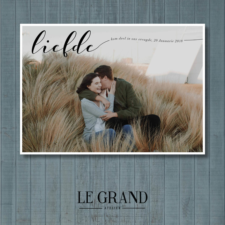 Digital Save The Date - STD – 9 by Le Grand Atelier